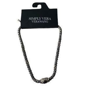 Vera Wang Silver Necklace